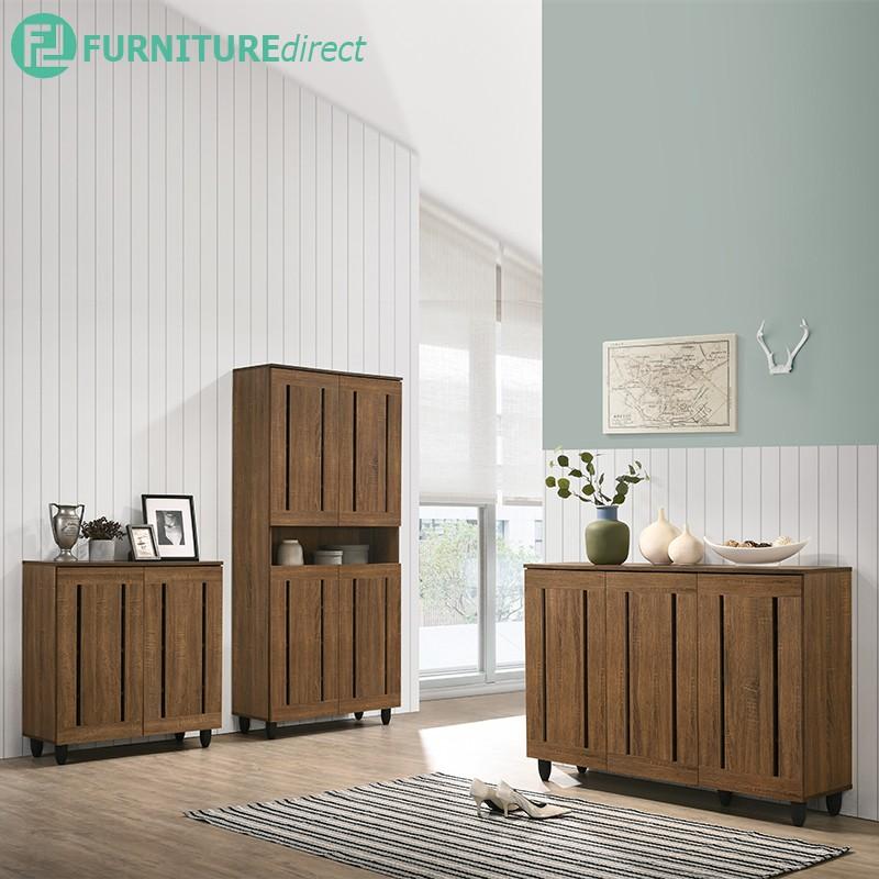 MERLOT shoe cabinet series/ rak kasut/ rak kasut kayu/ rak kasut bertutup