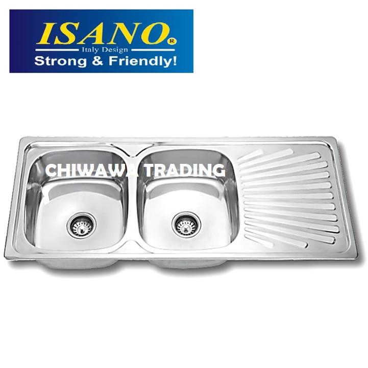 ISANO B210 Stainless Steel Kitchen Sink Bowl Basin Drainer