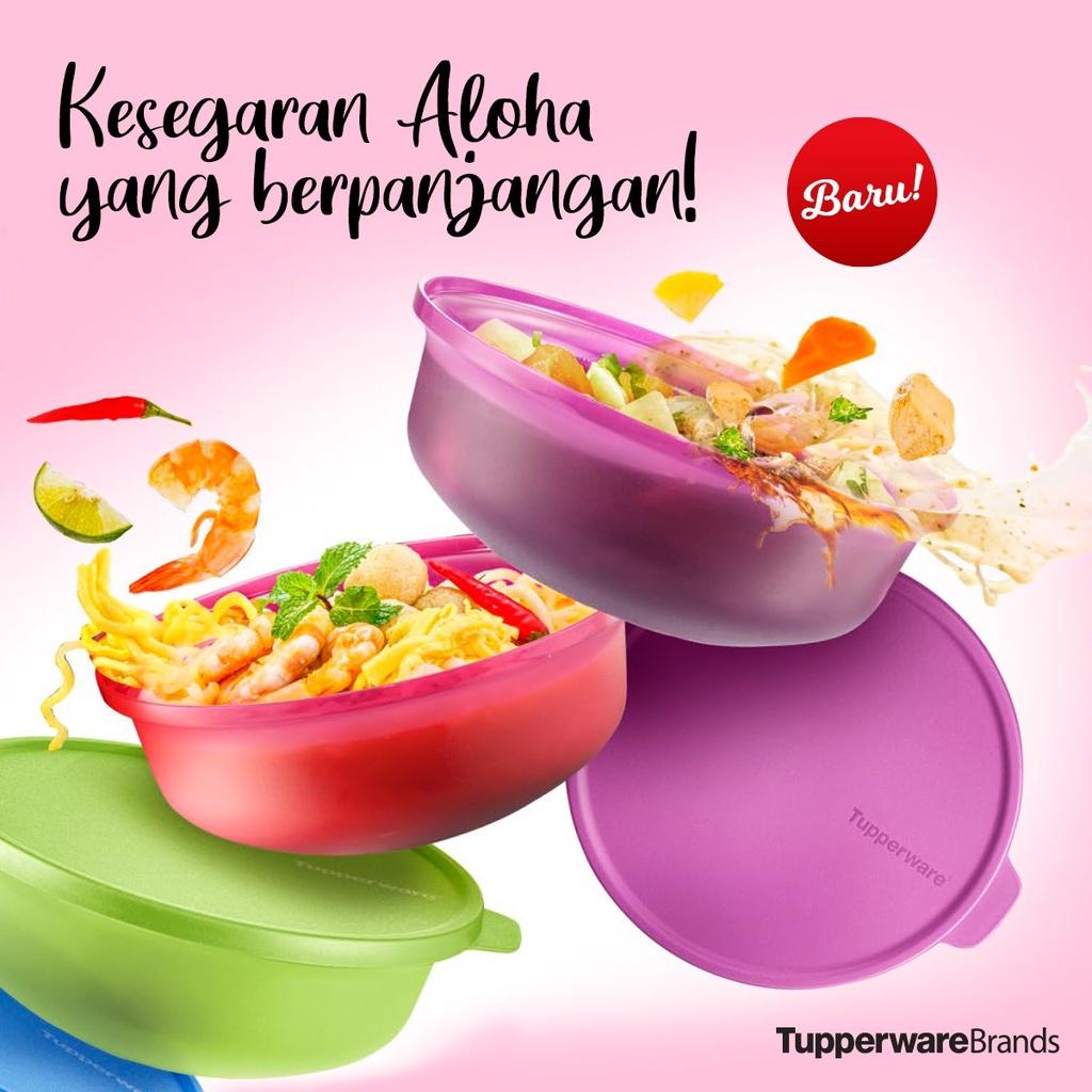 [𝟏𝟎𝟎% 𝐎𝐑𝐈𝐆𝐈𝐍𝐀𝐋] Aloha Bowl 1L by Tupperware Brands