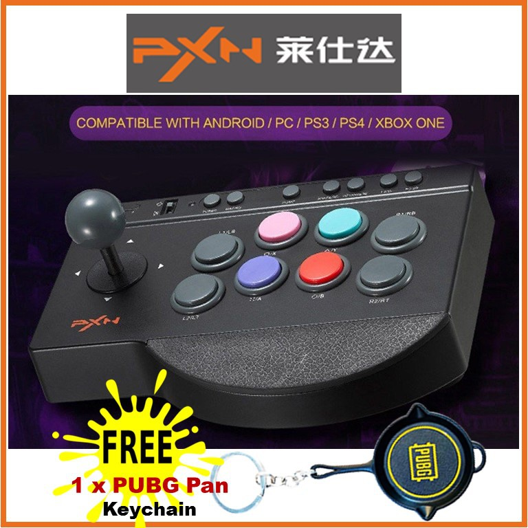 🇲🇾 Ready Stock🔥 PXN - 0082 Mobile Game Controller USB Wired Arcade  Joystick