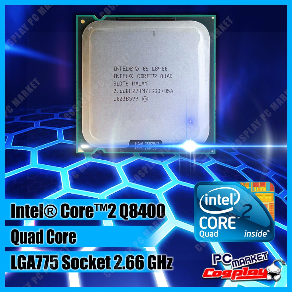 Intel Core 2 Quad Shopee Malaysia Procesor Q8200 Soket 775