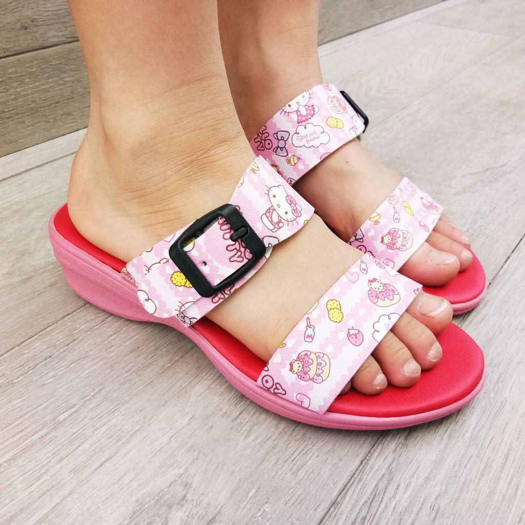 SHL Hello Kitty Lovely Girls Casual Kasut Slipper 8887