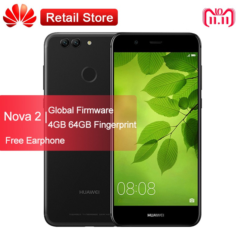 Huawei Nova 2 5 0 Inch 4G+64G FHD Screen Dual Sim 20 0MP