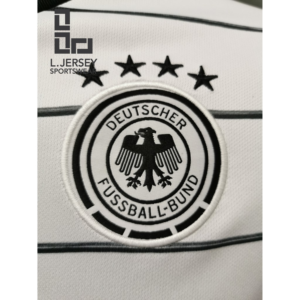 Germany Men Home Euro Cup Season 20/21 CLIMALITE Fans Jersey