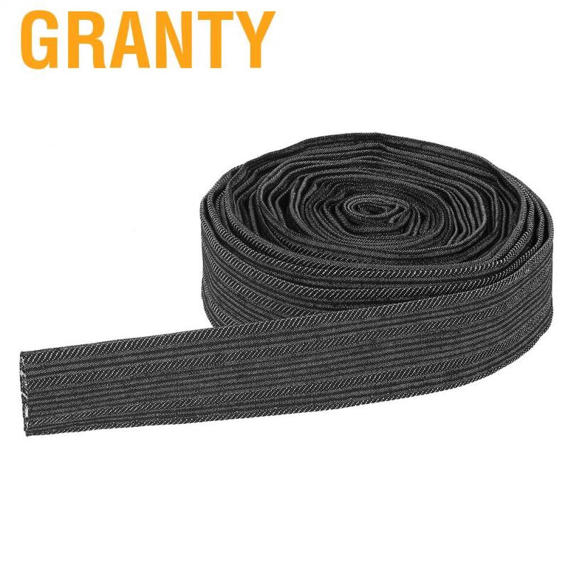 25FT Nylon Protective Sleeve Sheath Cable Cover Welding Tig Torch Hydraulic Hose