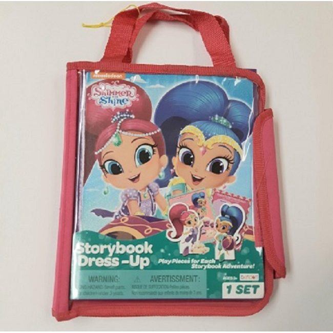 Wooden Storybook Dress-up Tote Shimmer & Shine (2017) iSBN: 9781505052206 (MPH)