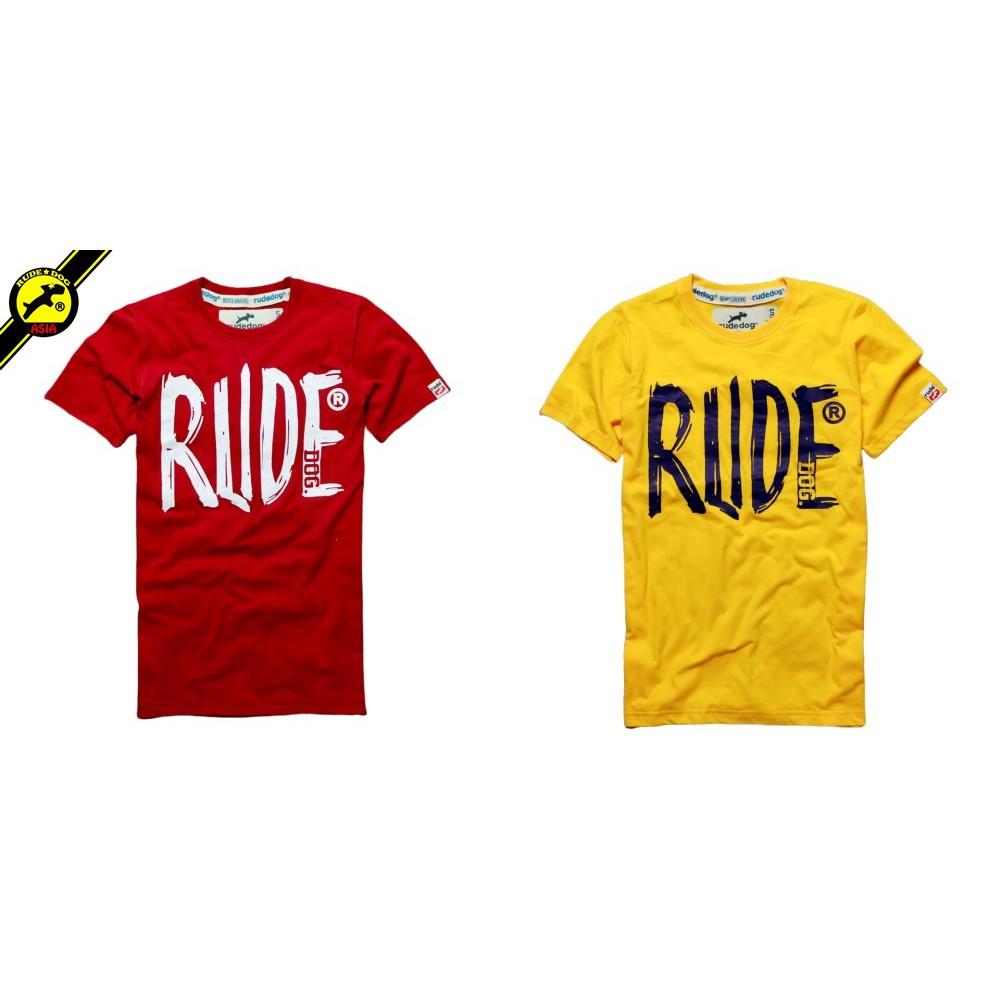 rudedog T-shirt เสื้อยืด รุ่น Brush รวมสี (LIMITED EDI