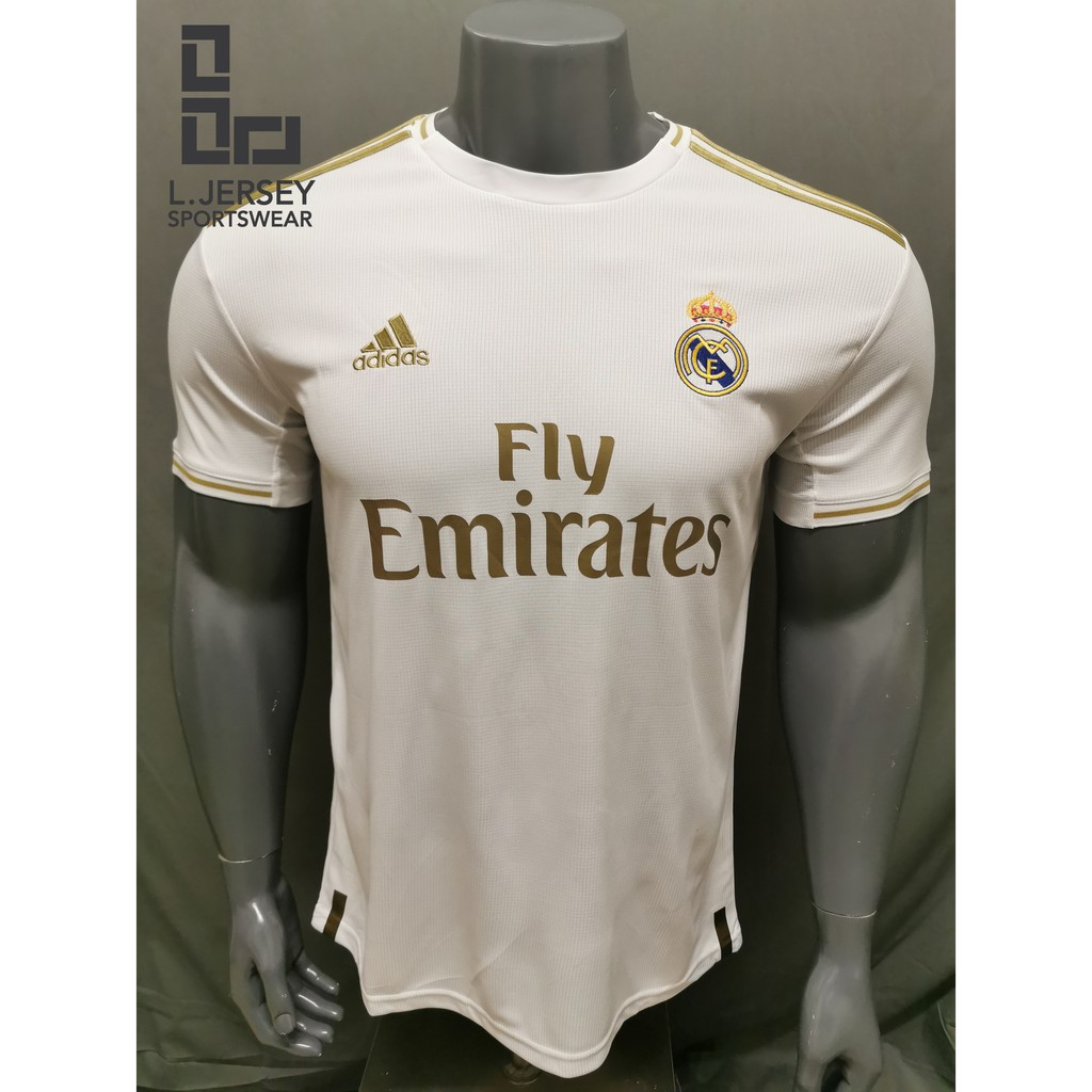 Real Madrid Men Home Season 19/20 CLIMALITE Fans Jersey