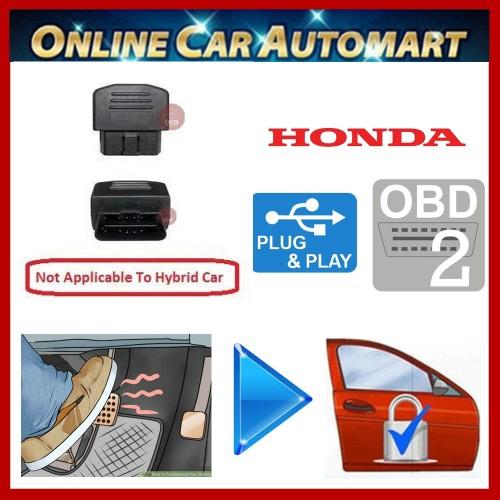 Honda City,Jazz,Civic,CRV Plug & Play OBD Foot Brake Auto Door Lock