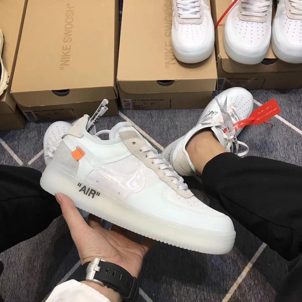 e8afa76c4e06 Nike Air Force 1 Flyknit White Red