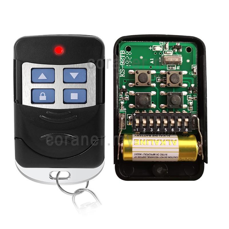 Garage Door 433mhz Key Fob Fixed Code Clone Transmitter