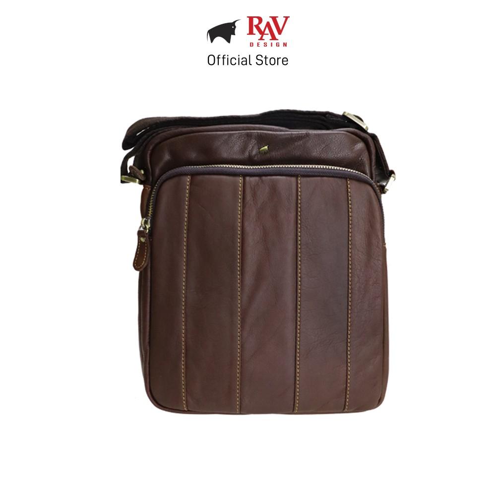 RAV DESIGN Men's Genuine Leather Sling Bag Series |YRC049