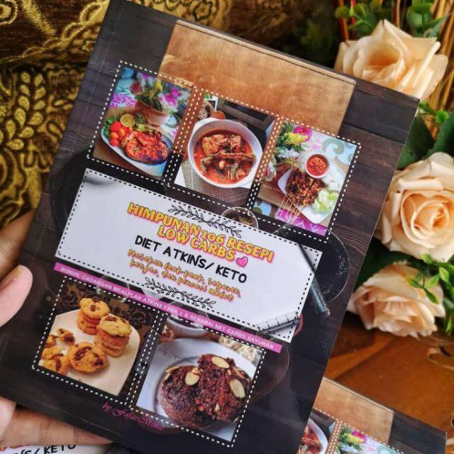 Resepi Kurus Diet Atkins/Low carbs/Keto by Fafae Mimie ...