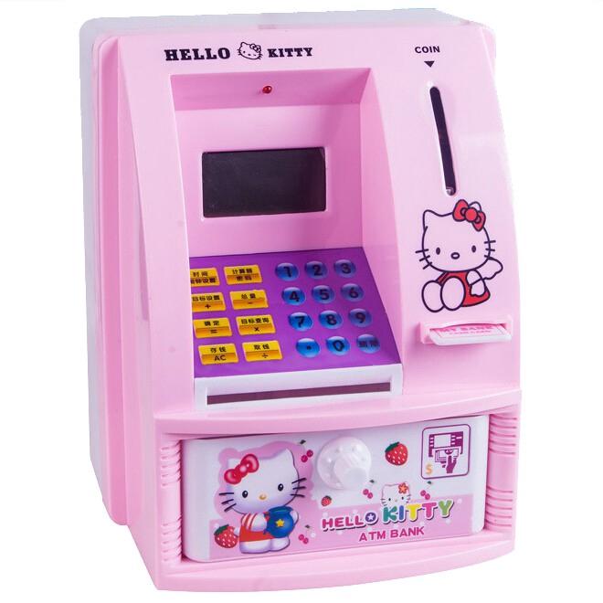 hello kitty atm coin bank