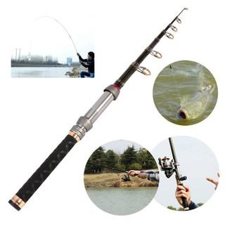 Erisl Fishing Rod 3.6-7.2m Pole Fiberglass Ultra Light Telescopic Carp Outdoor Tackle Fishing