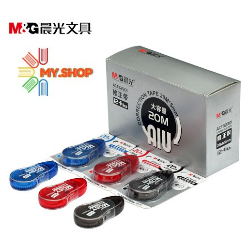 M&G CORRECTION TAPE 5mm x 20m M&G(MOSY) ACT52301/52371