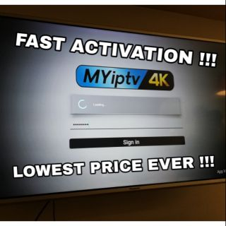 AUTHORIZED MYIPTV4K / MYIPTV SUBSCRIPTION / Renew | Shopee Malaysia
