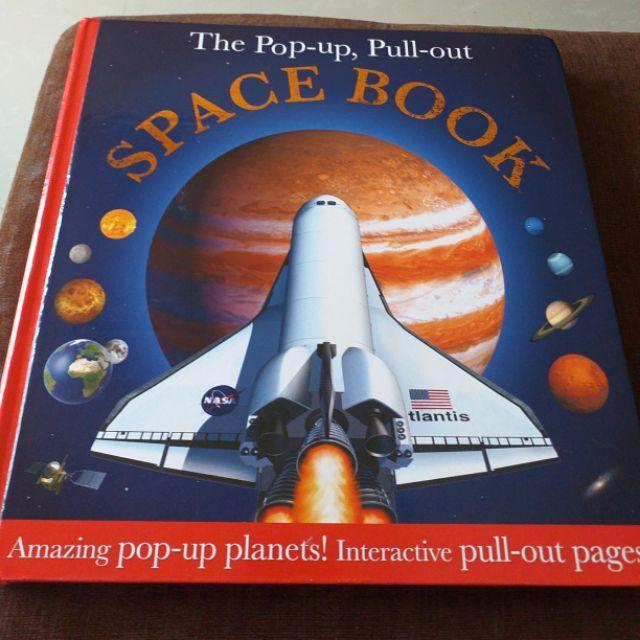 หนังสือเด็กภาษาอังกฤษมือสอง THE POPUP, PULL-OUT SPACE