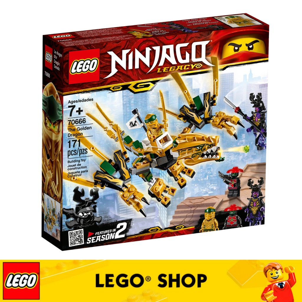 The Ninjago Golden Dragon 70666 Lego nOv0mNw8