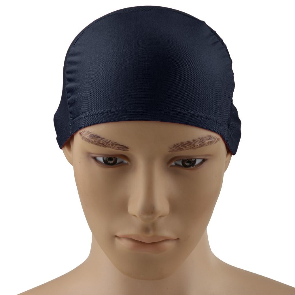 fe8271b46bfff ProductImage. ProductImage. Adult Unisex Womens Mens Caps Swim Cap Pool  Swimming Hat Long ...