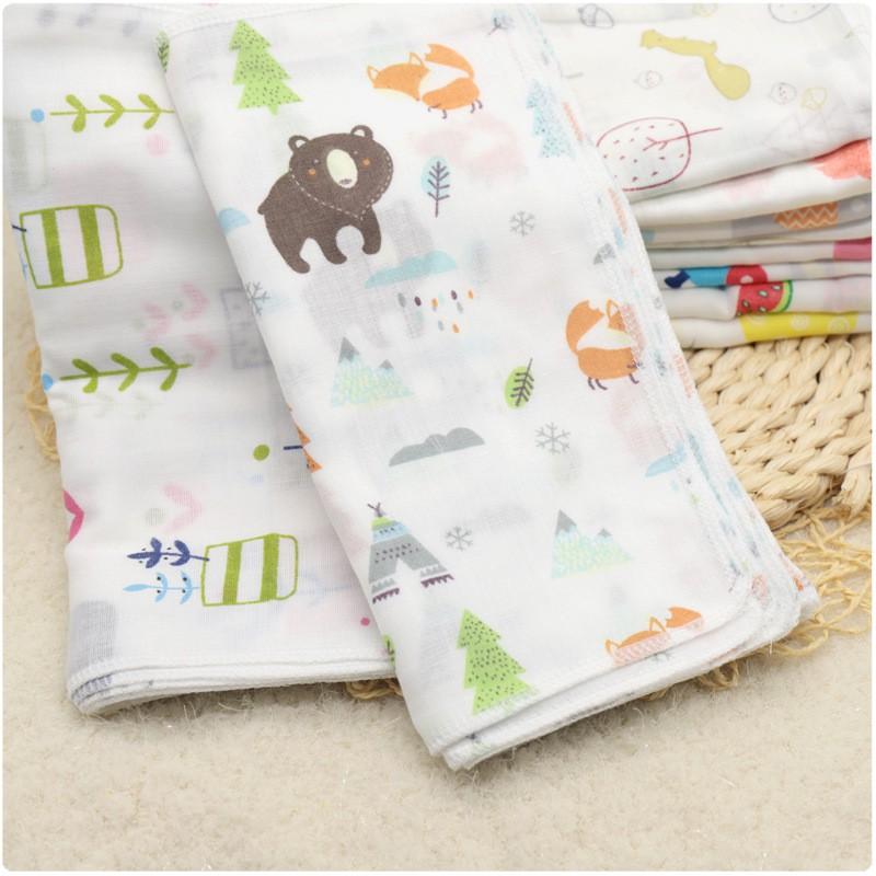 Baby Infant Handkerchief Face Towel Cloth Baby Bibs 宝宝婴儿口巾手巾BB0016