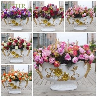 Wedding Supplies Real Touch Diy Craft Silk Colorful Home