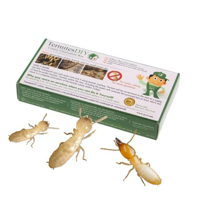 Original Shanjia Termites 2nd Generation Termite Diy Colony Elimination Baiting Box Shopee Malaysia