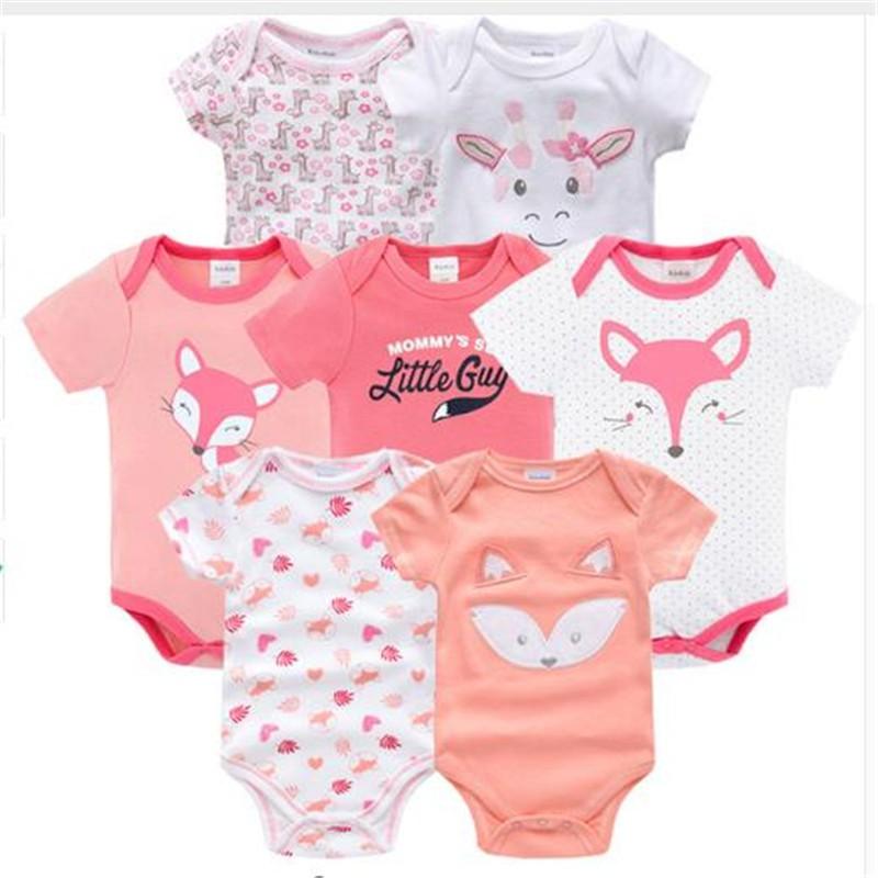 9b9d2cb159d62 lengan pendek bayi jumpsuit kartun bayi perempuan bodysuit 7 jumper ...