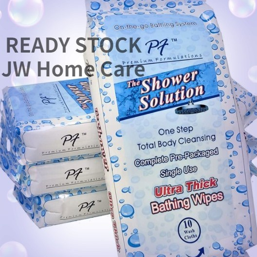 🔥2PACKS X 10s🔥SHOWER SOLUTION🔥COMPLETE BATHING SOLUTION LAP MANDI PENYELESAIAN DEWASA PEMBERSIH BADAN