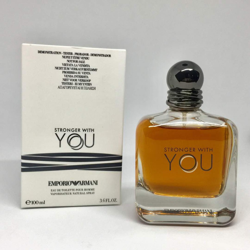 fd1a938ae ORIGINAL TESTER ARMANI STRONGER WITH YOU 100ML FOR MEN | Shopee Malaysia