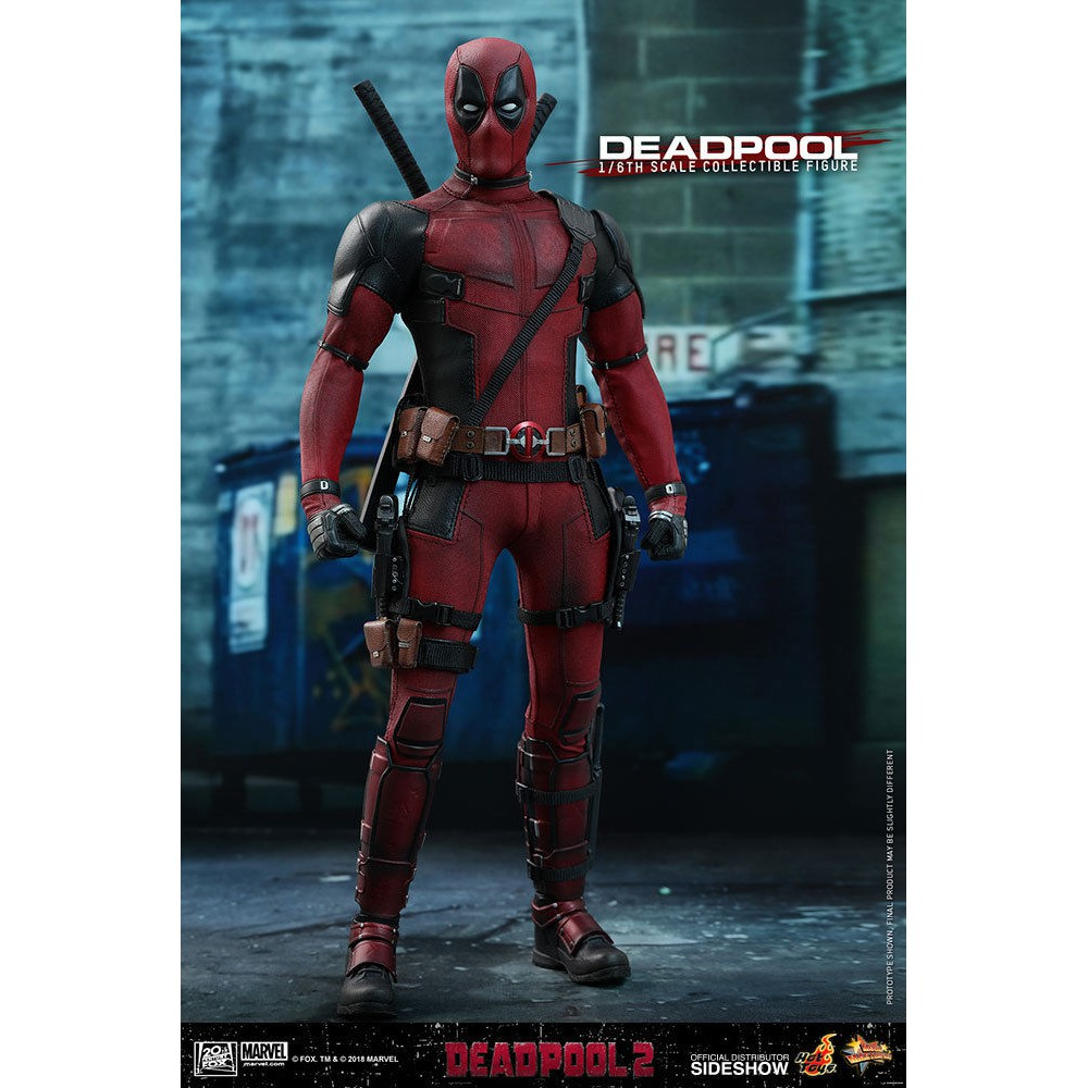 White Unicorn Model Toy Hot Toys 1//6th MMS490 Deadpool 2