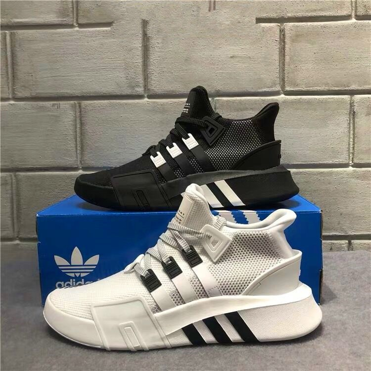 best website b24aa 9b62c Kasut Adidas men's and women's shoes EQT BASK ADV middle casual running  shoes