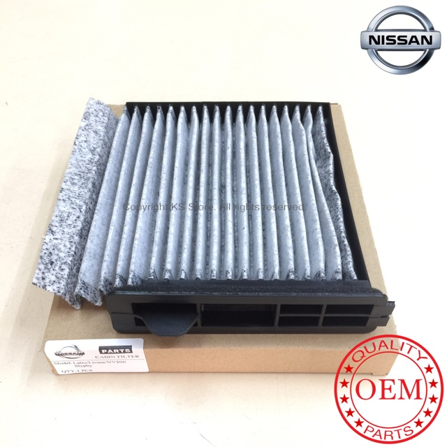Nissan Latio/Livina/Slyphy/NV200 Carbon Cabin Air Filter