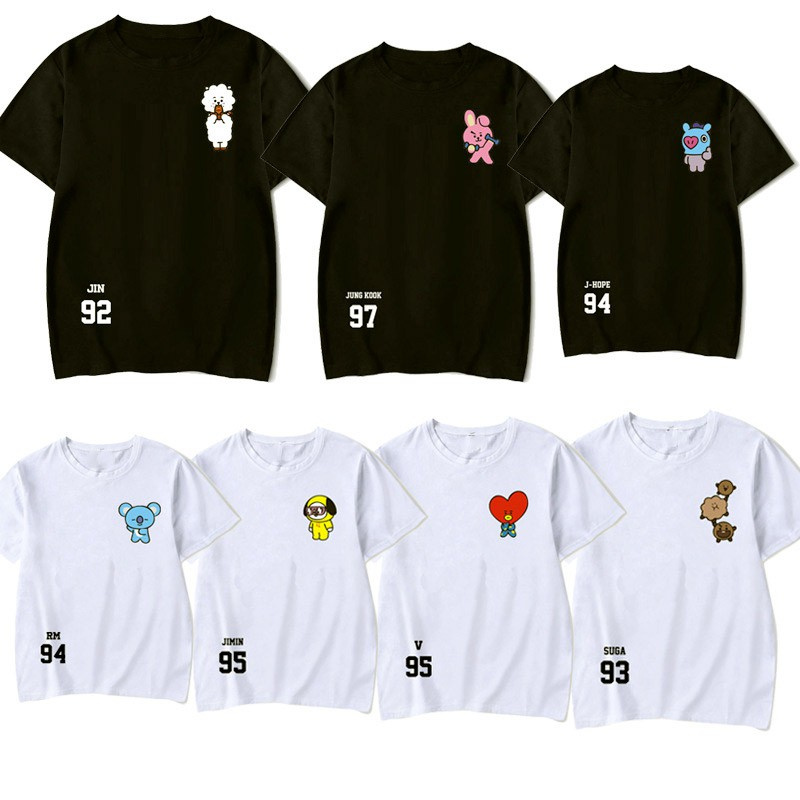 BTS Army BTS Kpop I Love BTS Short-Sleeve Unisex T-Shirt