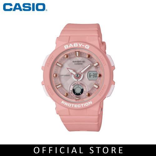 afceb1b82 Casio Baby-G BGA-250-4A Pink Resin Band Women Sports Watch | Shopee Malaysia