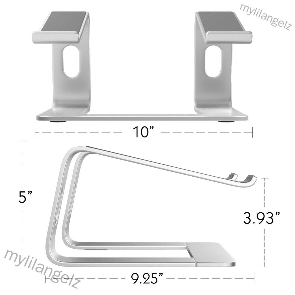 Mylilangelz Laptop Riser Stand Universal Detachable Portable Aluminum Alloy Notebook PC Desk Holder