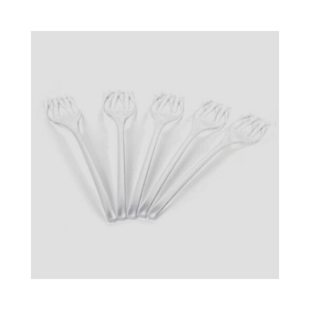 Dessert Fork, Transparent, 50 pcs
