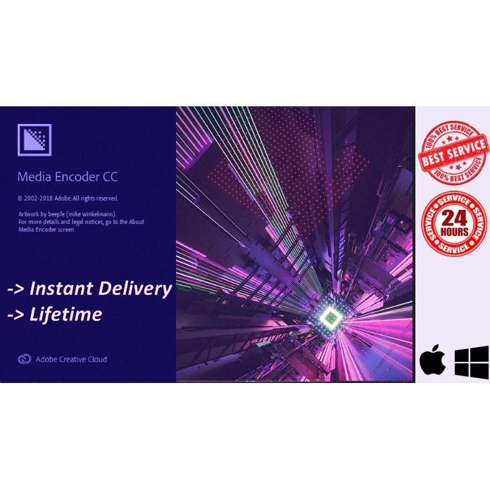 Adobe Media Encoder CC 2019 LIFETIME | Windows | Mac | 100% Worked